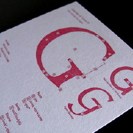 Type Anatomy Postcard G